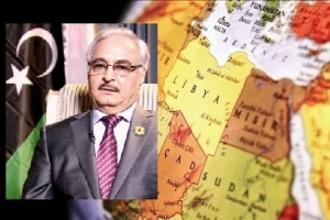 Khalifa Haftar and Libya's map |OPED COLUMNMagazine