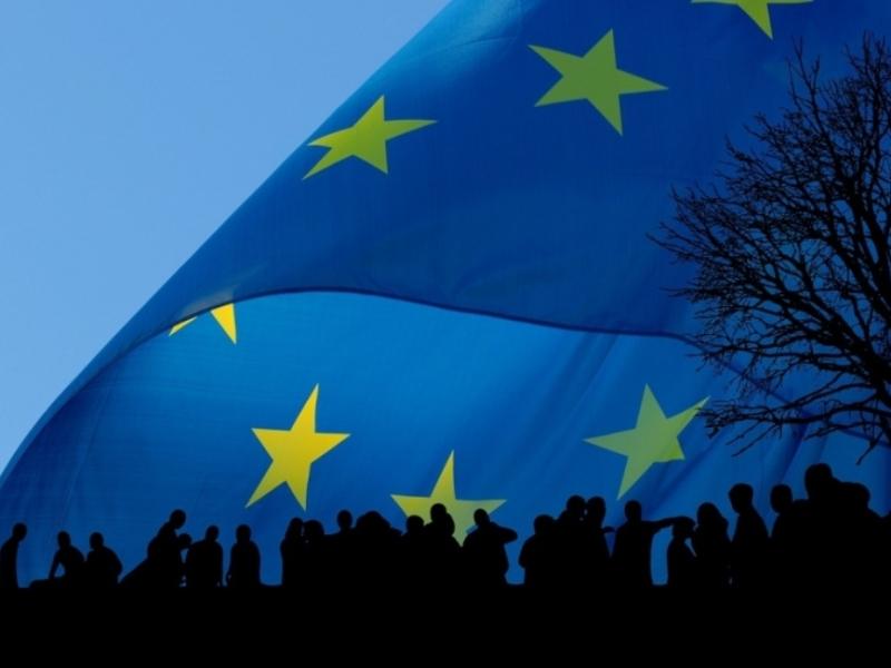 European Union (EU) flag  OPED COLUMNMagazine