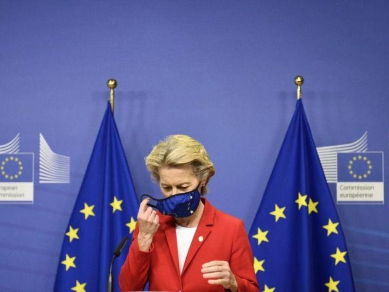European Commission President Ursula von der Leyen  OPED COLUMNMagazine