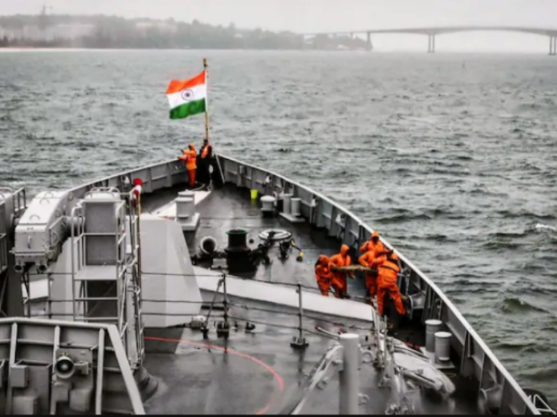 Indian Navy vessel, Indo-Pacific |OPED COLUMNMagazine