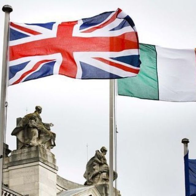 Flags of the United Kingdom (UK), Ireland and the EU |OPED COLUMNMagazine
