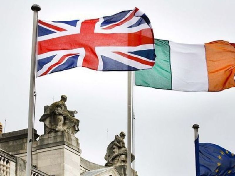 Flags of the United Kingdom (UK), Ireland and the EU | OPED COLUMN Magazine